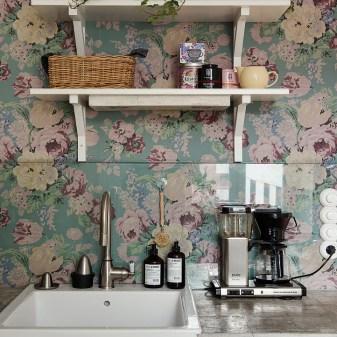 floral home decor kitchen 2. Floral home decor   interior trends 2016