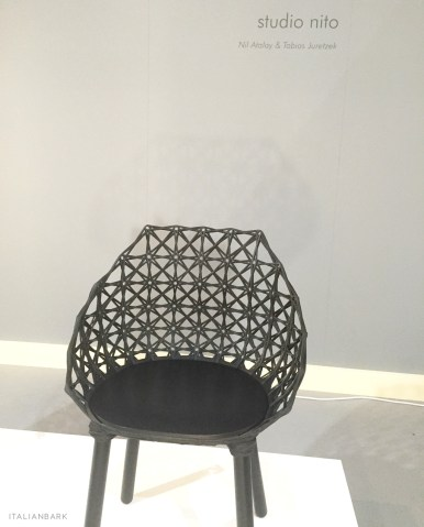 salonesatellite2016, salone satellite, milan design week 2016, salone satellite best, designers salone satellite, studio nito, black chair, chair design black