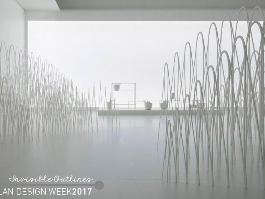 Invisible Outlines Nendo, fuorisalone 2017 best, nendo fuorisalone, milan design week 2017, jellyvase nendo