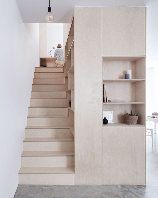 8 Compact Stairs For Cool Compact Spaces Italianbark | Stairs Design For Small Space | Steel | Space Saving | Limited Space | Unique | Residential