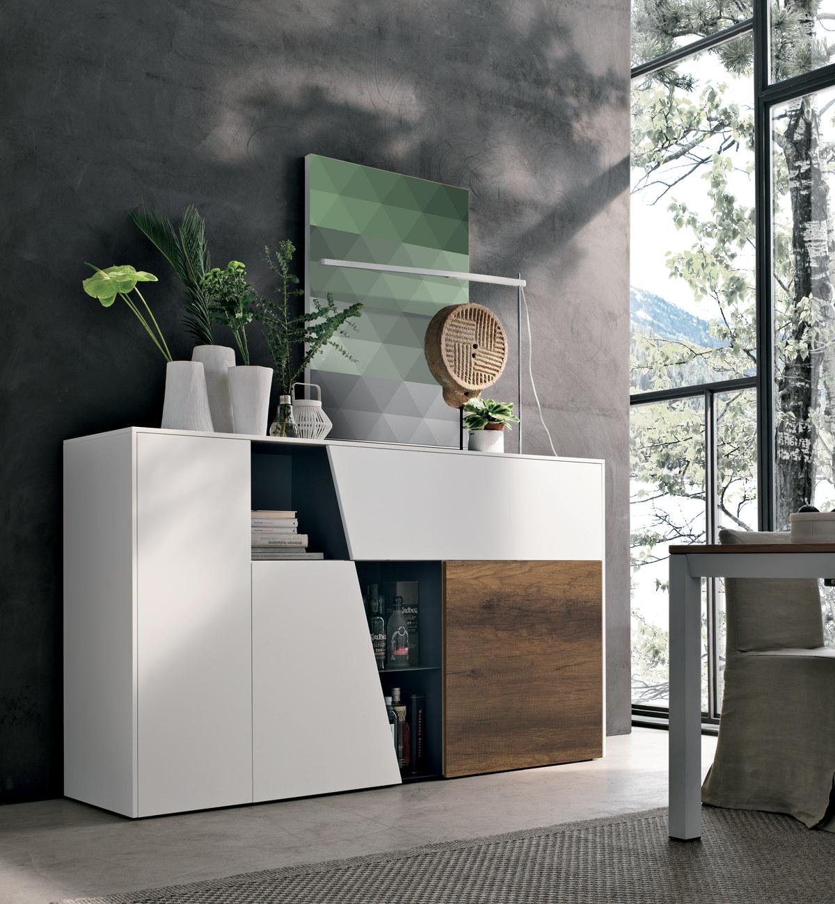 Mensole design in metallo, vetro o legno: Living Room Design Proposal Finding The Perfect Tv Cabinet
