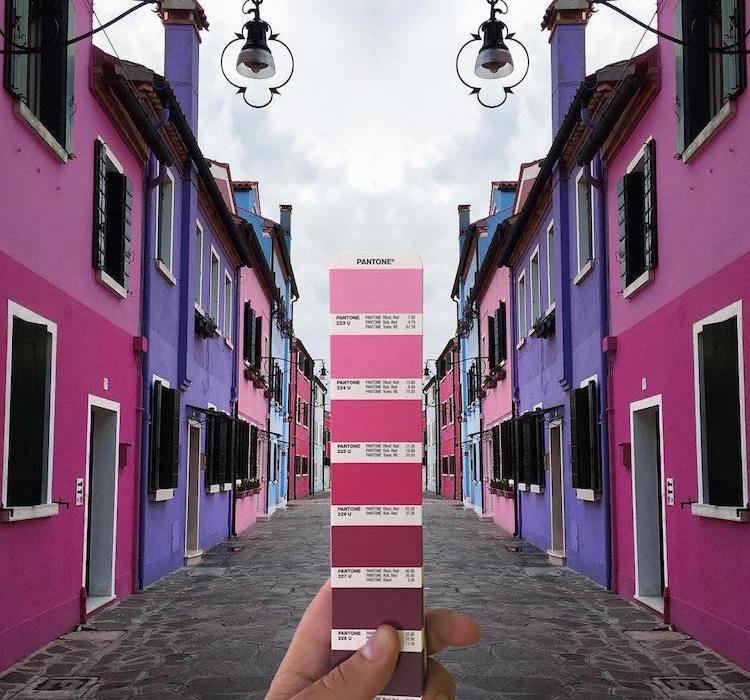 andrea antoni, stiluan, pantone. pantone instagram, pantone photography, italianbark interior design blog, pantone pink