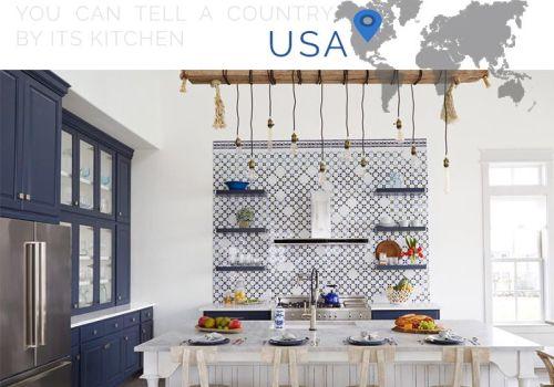 american kitchens design, bertazzoni kitchens, contemporary kitchen in black and white - ITALIANBARK interior design blog