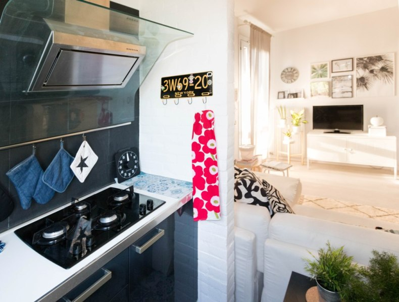 kitchen remodel, tiled floor kitchen, vinyl floor tiles effect, kitchen makeover decor idea