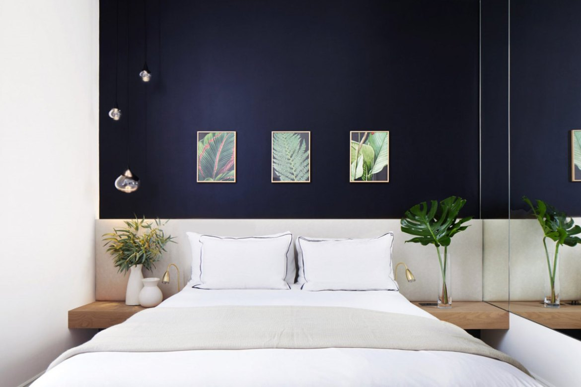 bedroom hotel design, BOUTIQUE HOTEL IN CHELSEA BY DH LIBERTY