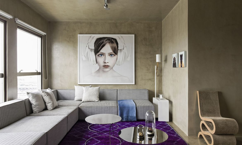 brazilian home interiors, brazilian interior style, ultra violet inteior, concrete walls, a design award