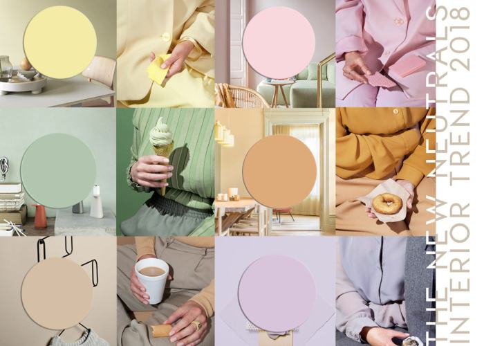 INTERIOR TRENDS 2019 | Pastels are the new neutrals