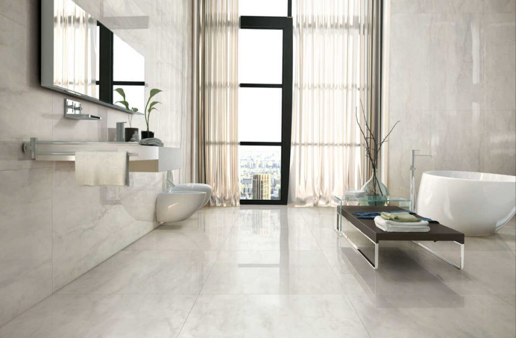 large format tiles are a big trend in