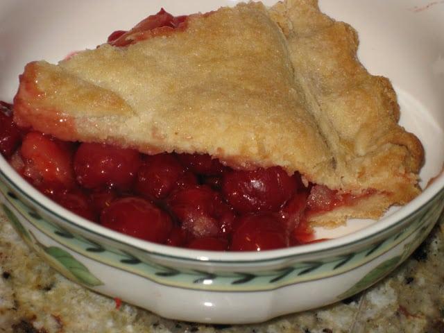 Favorite Holiday Cherry Pie