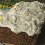 Cinnamony Zucchini Cake with Creamy Cream Cheese Frosting