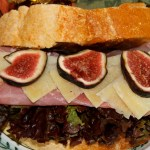Prosciutto, Fresh Fig, and Manchego Cheese Sandwiches