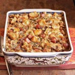 Smoky Bacon and Prosciutto Biscuit Stuffing/Dressing