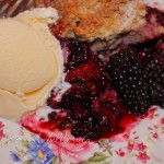 Fresh Blackberry Cobbler with Sweet, Tender Biscuits