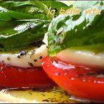 Caprese Salad – Insalata Caprese