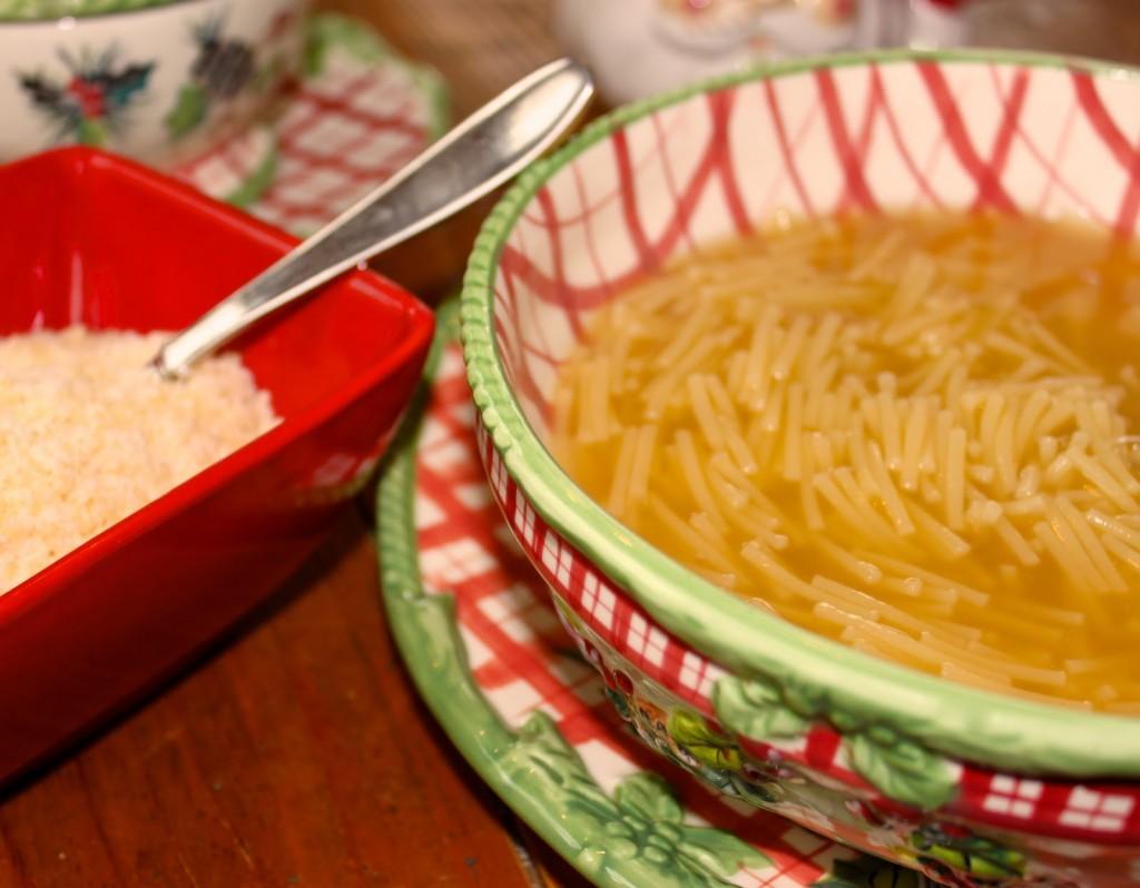 Chicken Pastina Soup