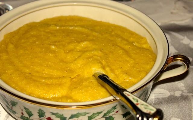 Polenta, Creamy or Fried