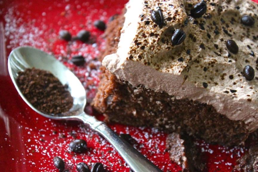 Espresso and Chocolate Tres Leches Cake