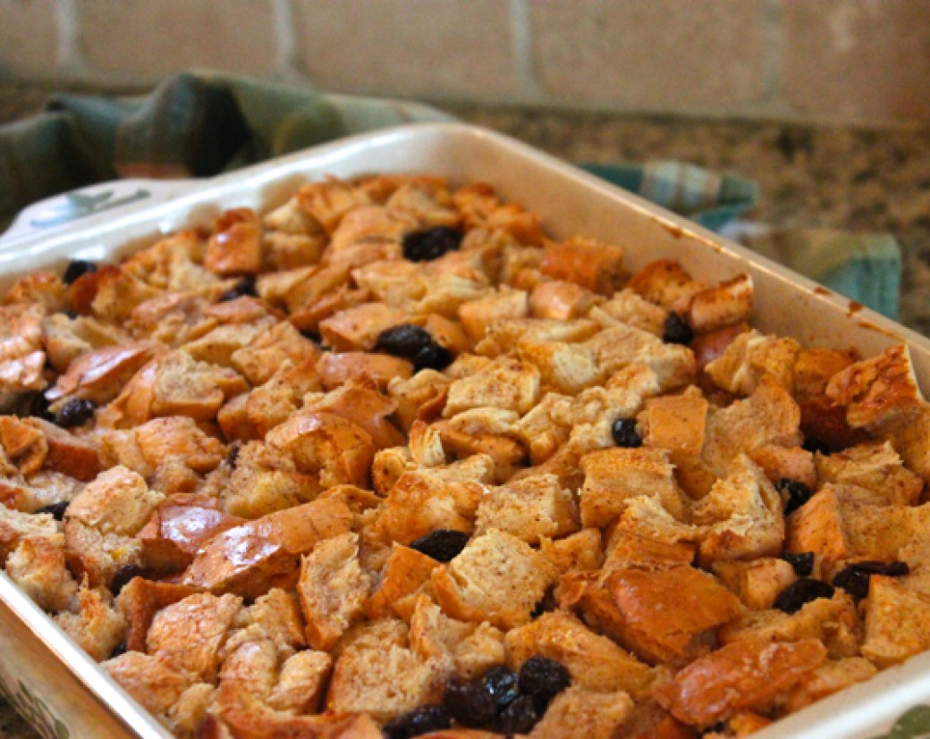 Bread Pudding with Caramel Whiskey Sauce