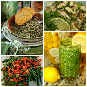 St. Patrick's Day Green Food