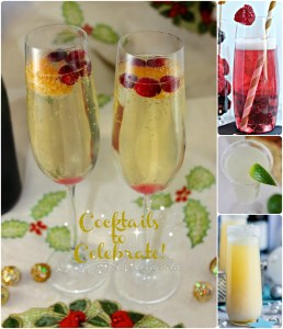 cocktails to celebrate in new year's eve