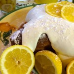 Italian Lemon Dove Cake with Limoncello Cream