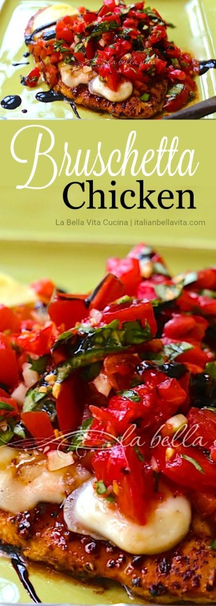 Italian Bruschetta Chicken