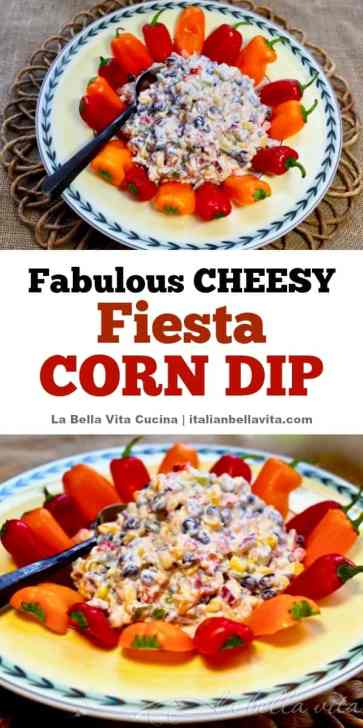 Cheesy Fiesta Corn Dip