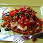 Skinny Italian Bruschetta Chicken