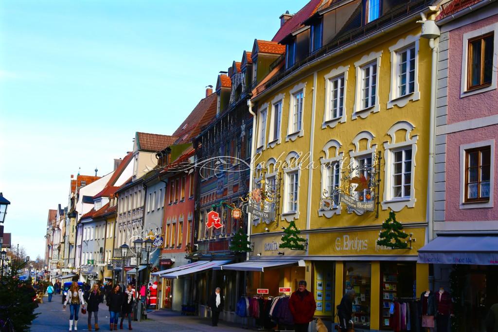 Fussen, Bavaria, Germany -- The Village By Neuschwanstein Castle