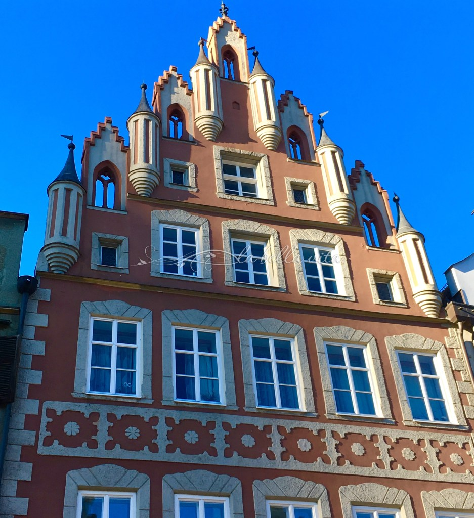 More Contemporary Versions of the Midevial Past of Landshut, Germmy, the First Capital of Bavaria.