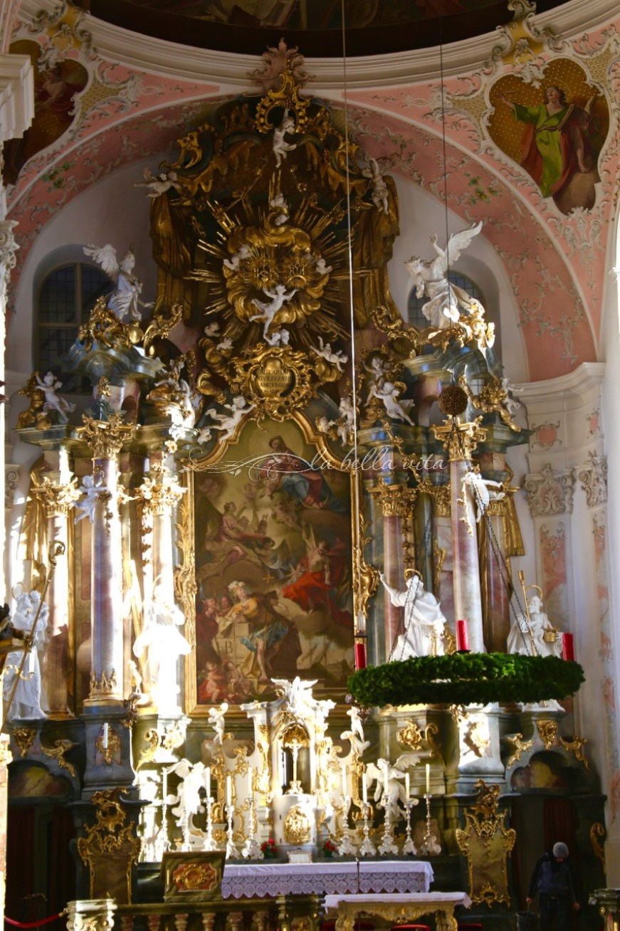Oberammergau, Bavaria, Germany -- St. Peter and Paul Church