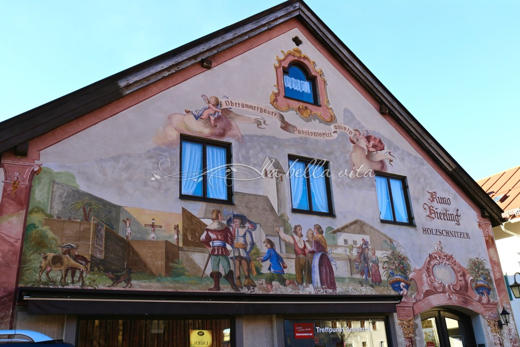Oberammergau, Bavaria, Germany Home of The Passion Play