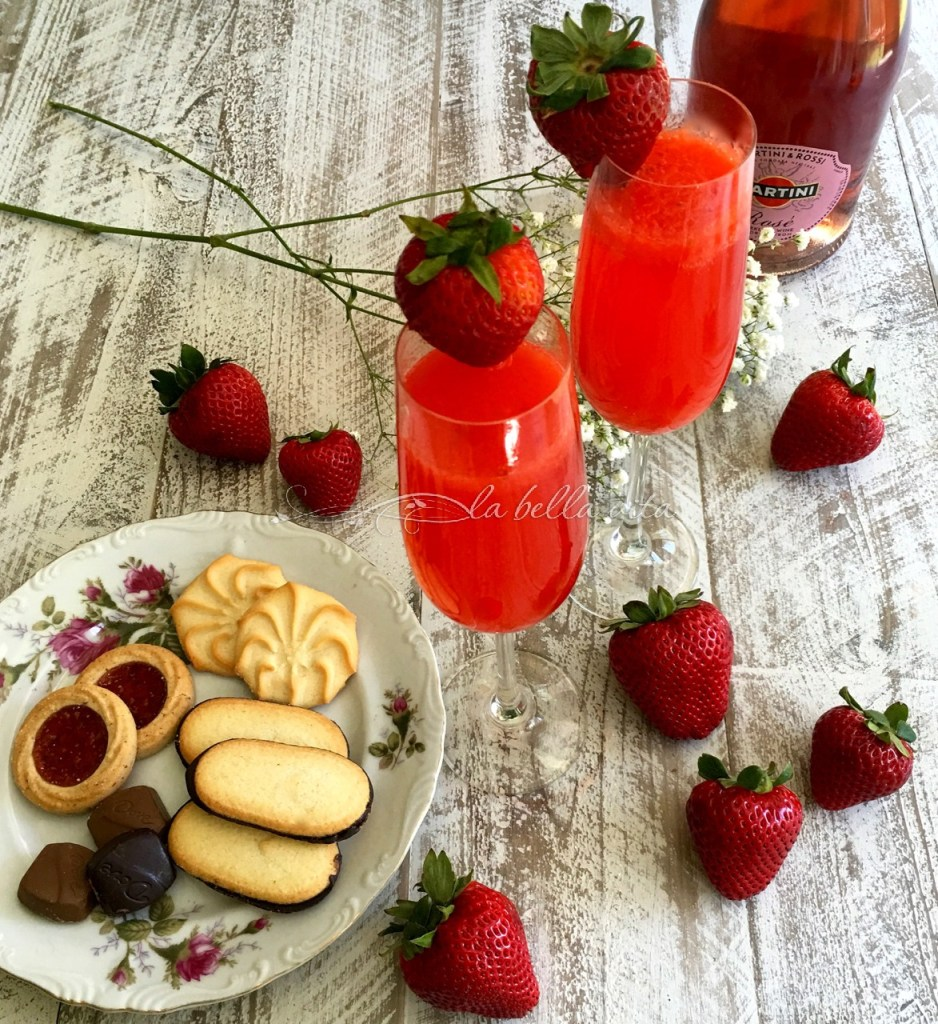 strawberry belini