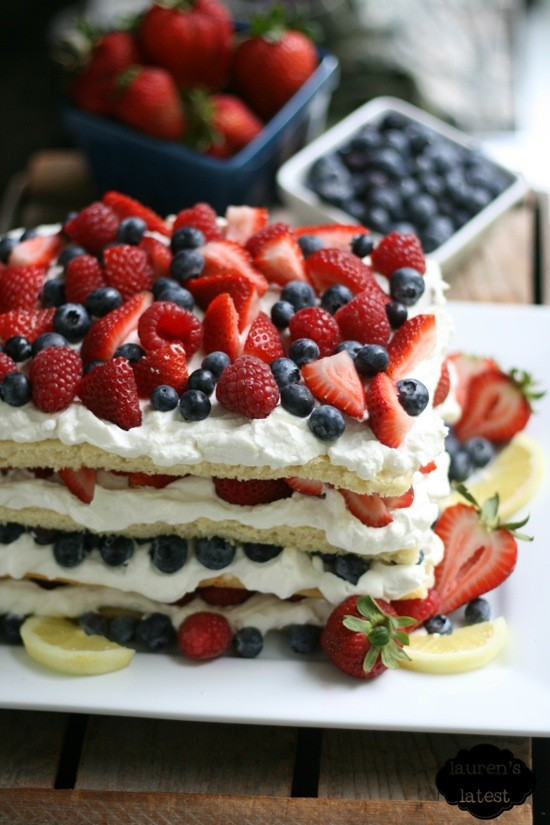 25 Top Pinned Red White and Blue Patriotic Recipes on Pinterest