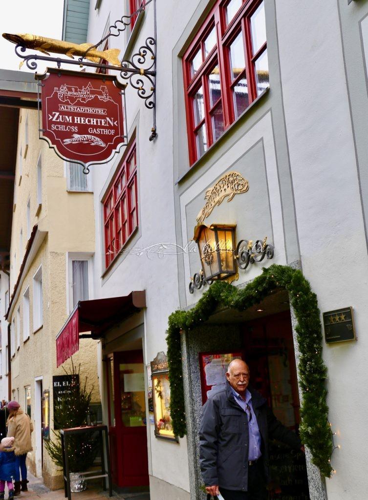 Octoberfest German jaeger schnitzel with spaetzle