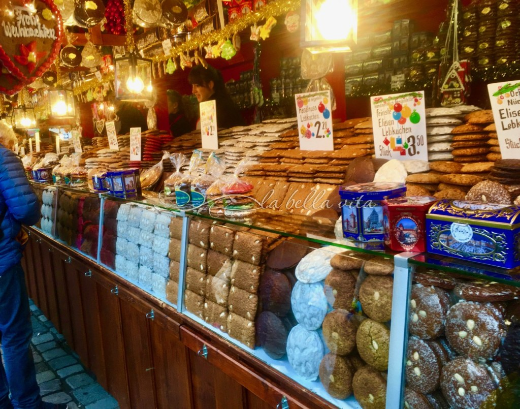 Lebkuchen German Christmas Cookie and Christmas Markets