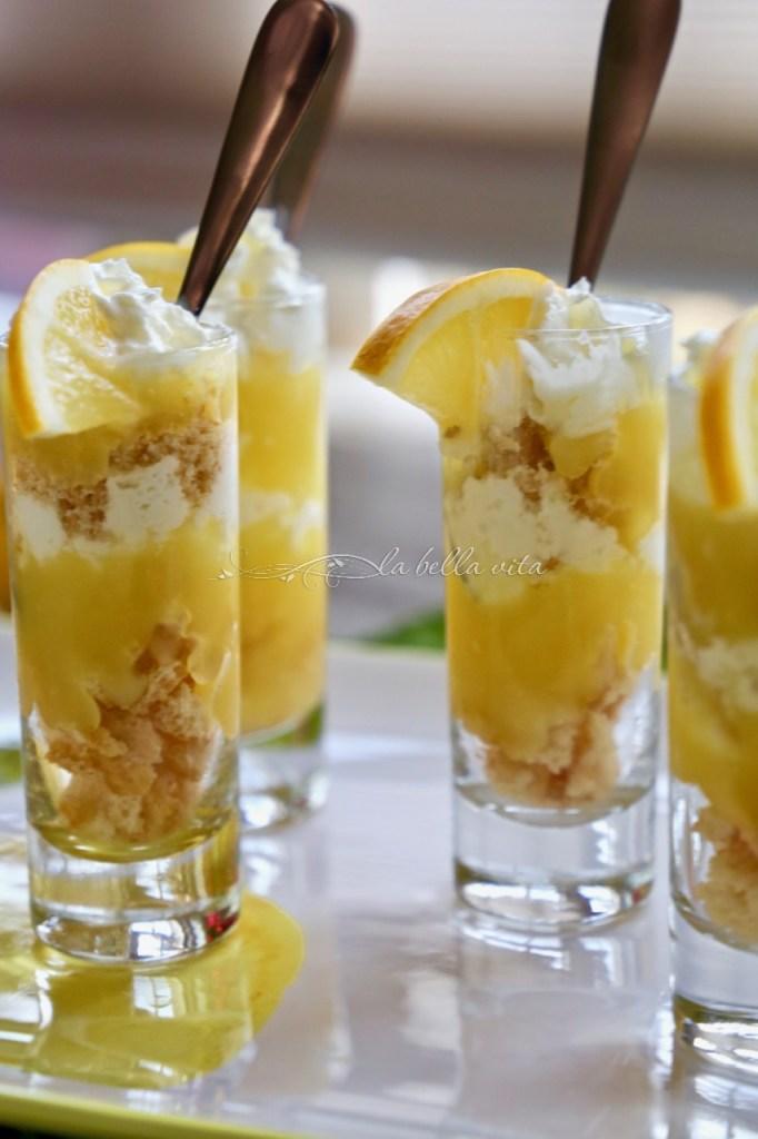 Mini Lemon Meyer Parfaits