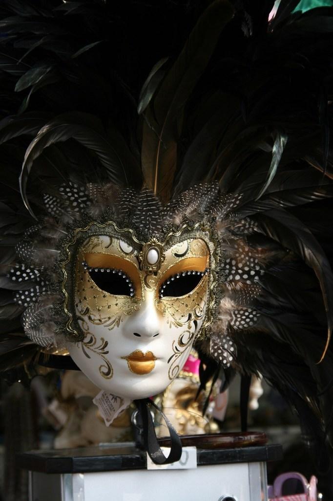 beautiful venetian costumes masks