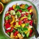 Italian Summer Vegetable Salad