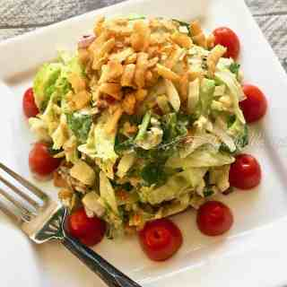 Ruth's Chris Steakhouse Chopped Salad -- Copycat Recipe is SO DELICIOUS!!