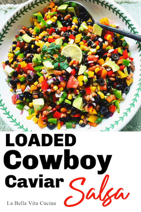 Loaded Cowboy Caviar Salsa
