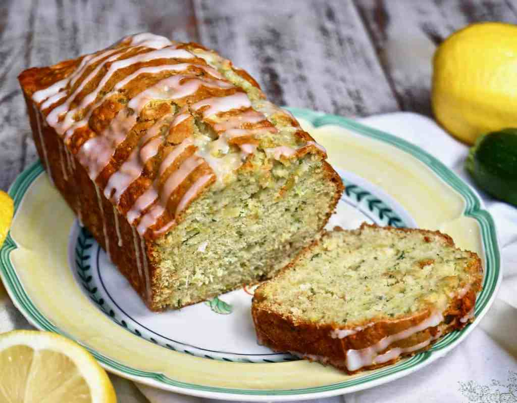 Superb Moist Lemon Zucchini Bread