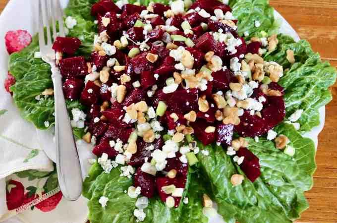 Roasted Balsamic Beet Salad | La Bella Vita Cucina