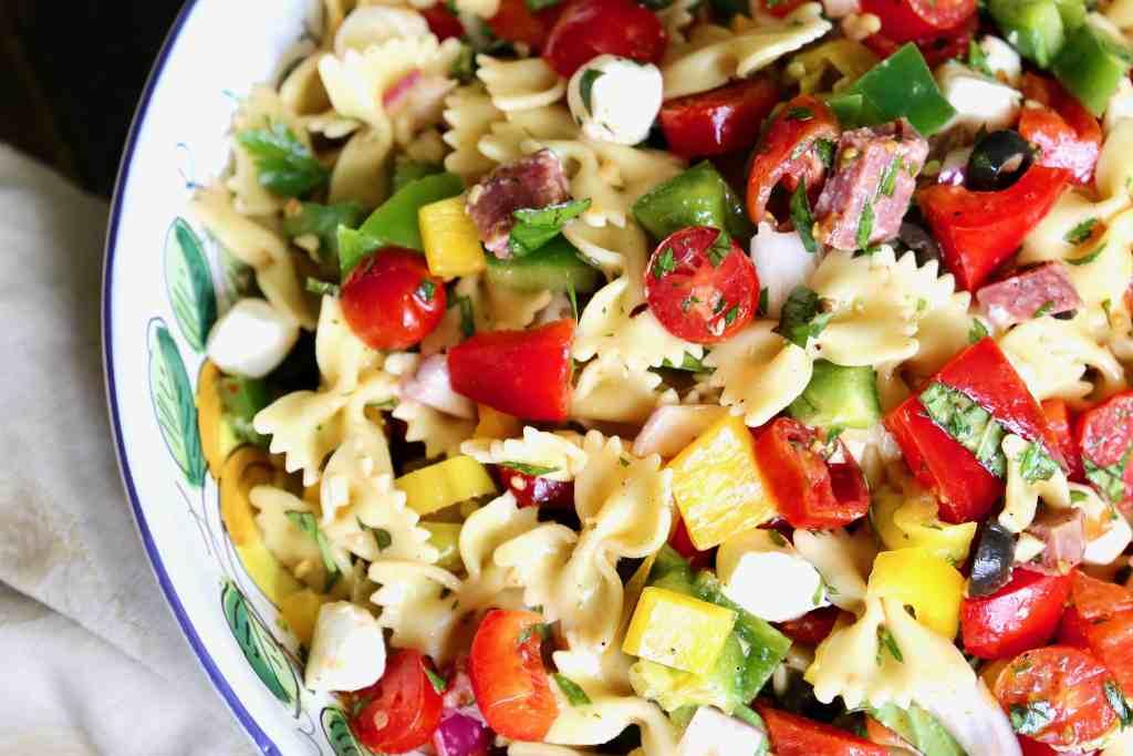 Easy Fresh Pasta Salad