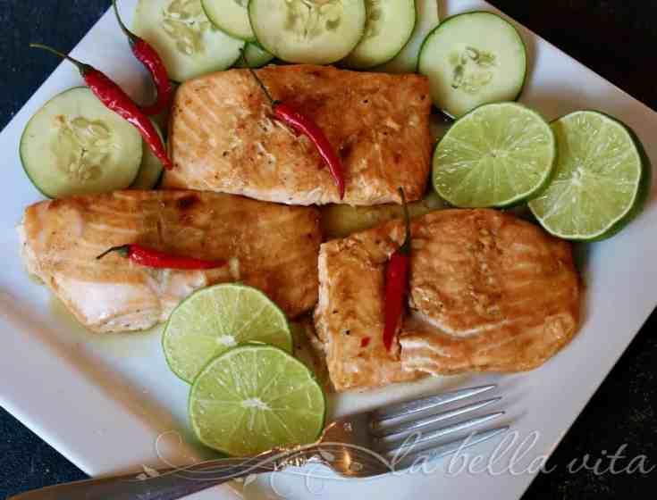 Delicate Thai Salmon