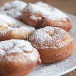 Italian donuts, the Carnival fritters in Italy