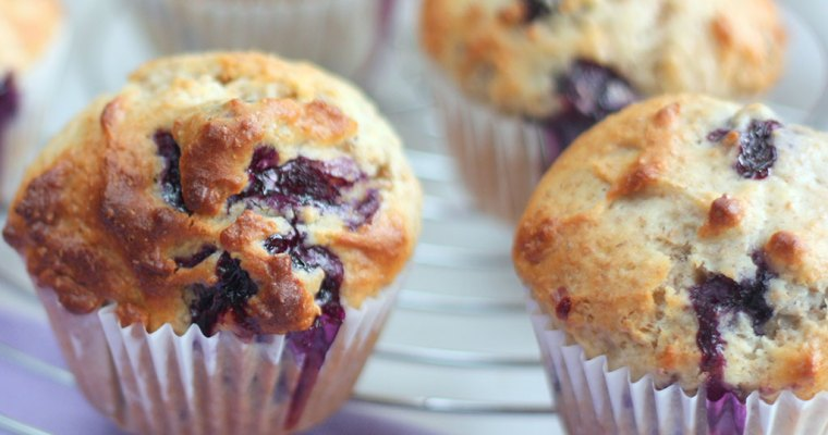 Blueberry Muffin, Easy, Tasty & Perfect For Breakfast