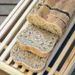 A 90% Whole Grain Bread Soft and Simple to Prepare