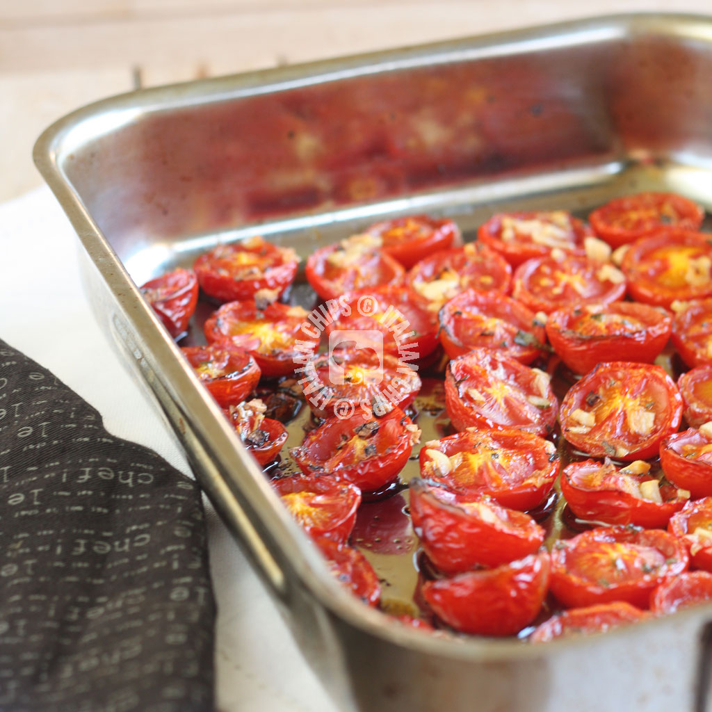 Irresistible Roasted Tomatoes