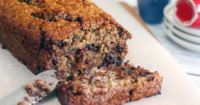 Vegan Chocolate Chip Banana Bread – It is Also Gluten Free!